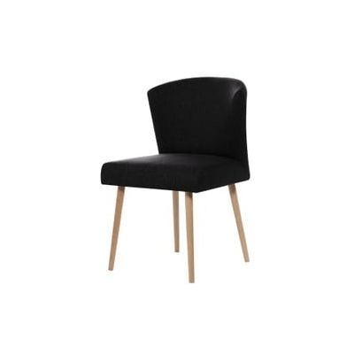 Scaun dining My Pop Design Richter, negru