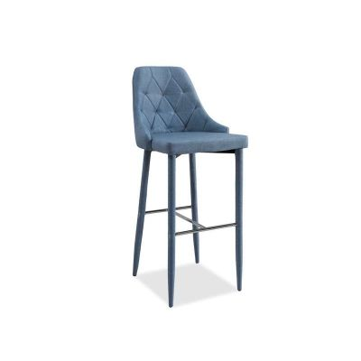 Scaun de bar denim Trix